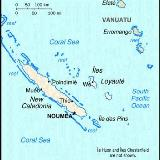 New Caledonia (Small Map) 1997
