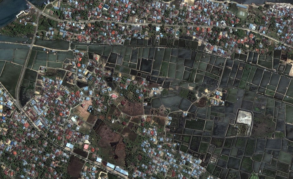 Banda Aceh - Before Flooding (June 23 2004) caused by tsunami