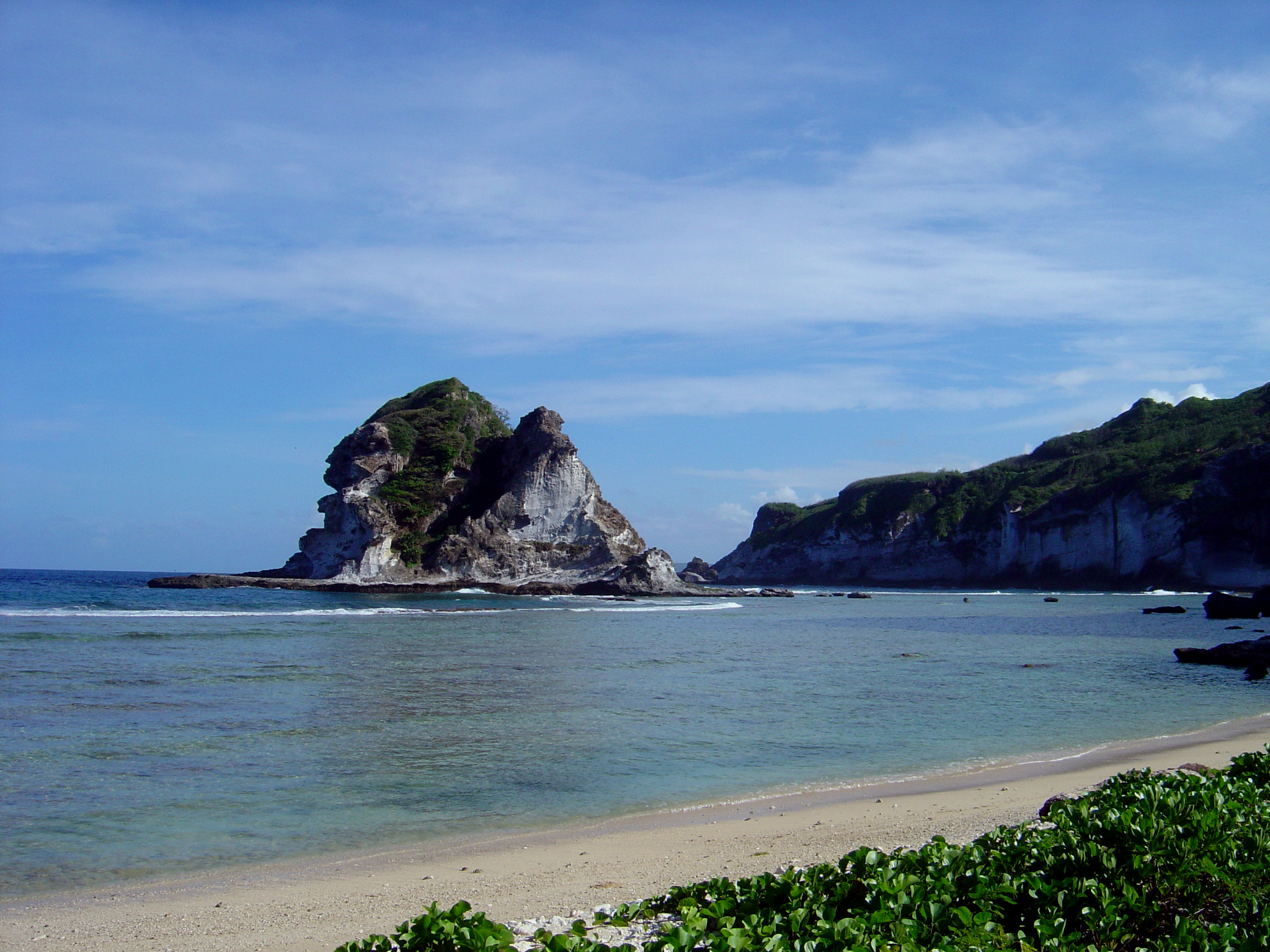A view of Bird Island, Saipan, CNMI
