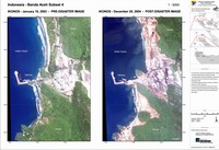 Post Tsunami images (IKONOS) of Banda Aceh area, Sumatra, Indonesia.  Data from Centre for Remote Imaging, Sensing and Processing (CRISP), NUS, Singapore