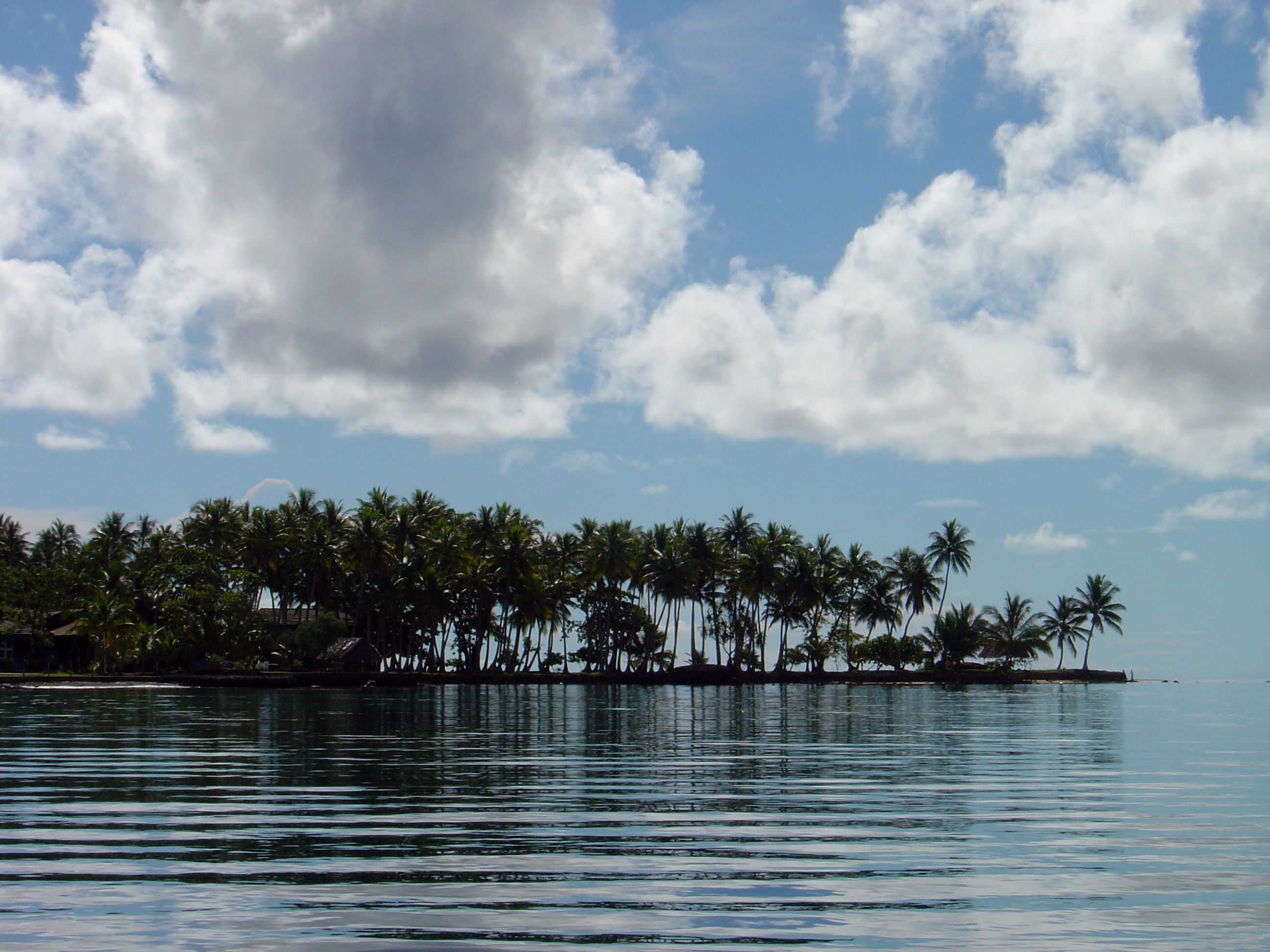 A peninsula on the island of Weno (Moen) in Chuuk, FSM