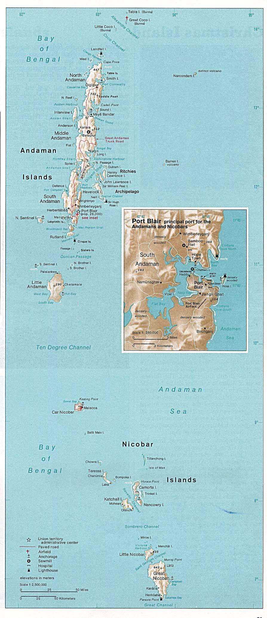 Andaman and Nicobar Islands (Union Territory of India) 1976
