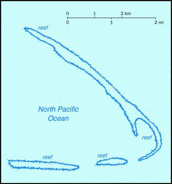Kingman Reef (U.S.) (Small Map) 1997
