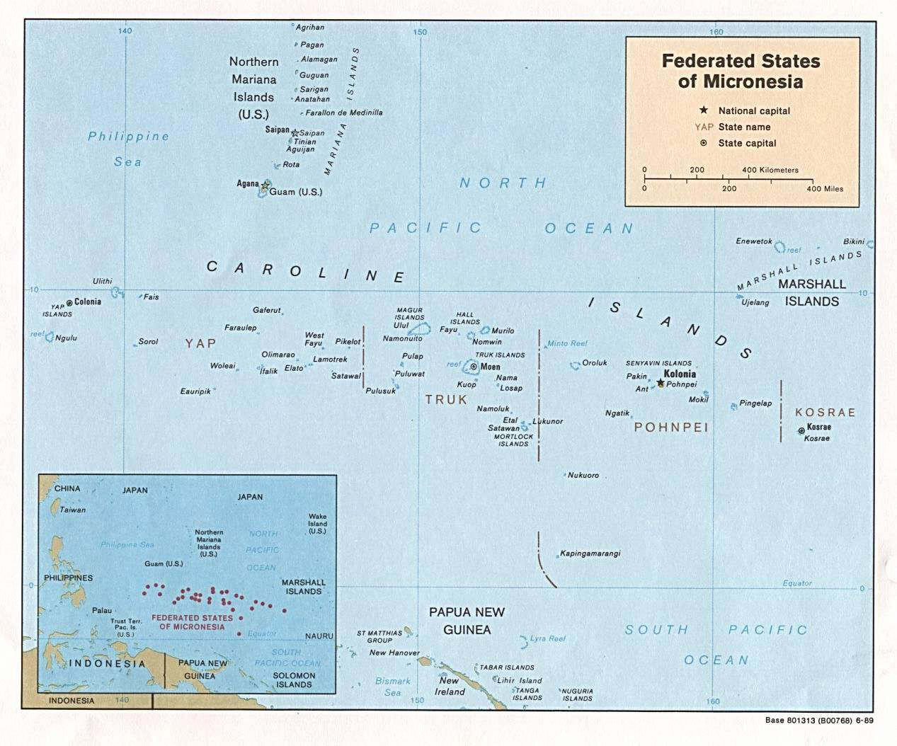 Federated States of Micronesia, Political