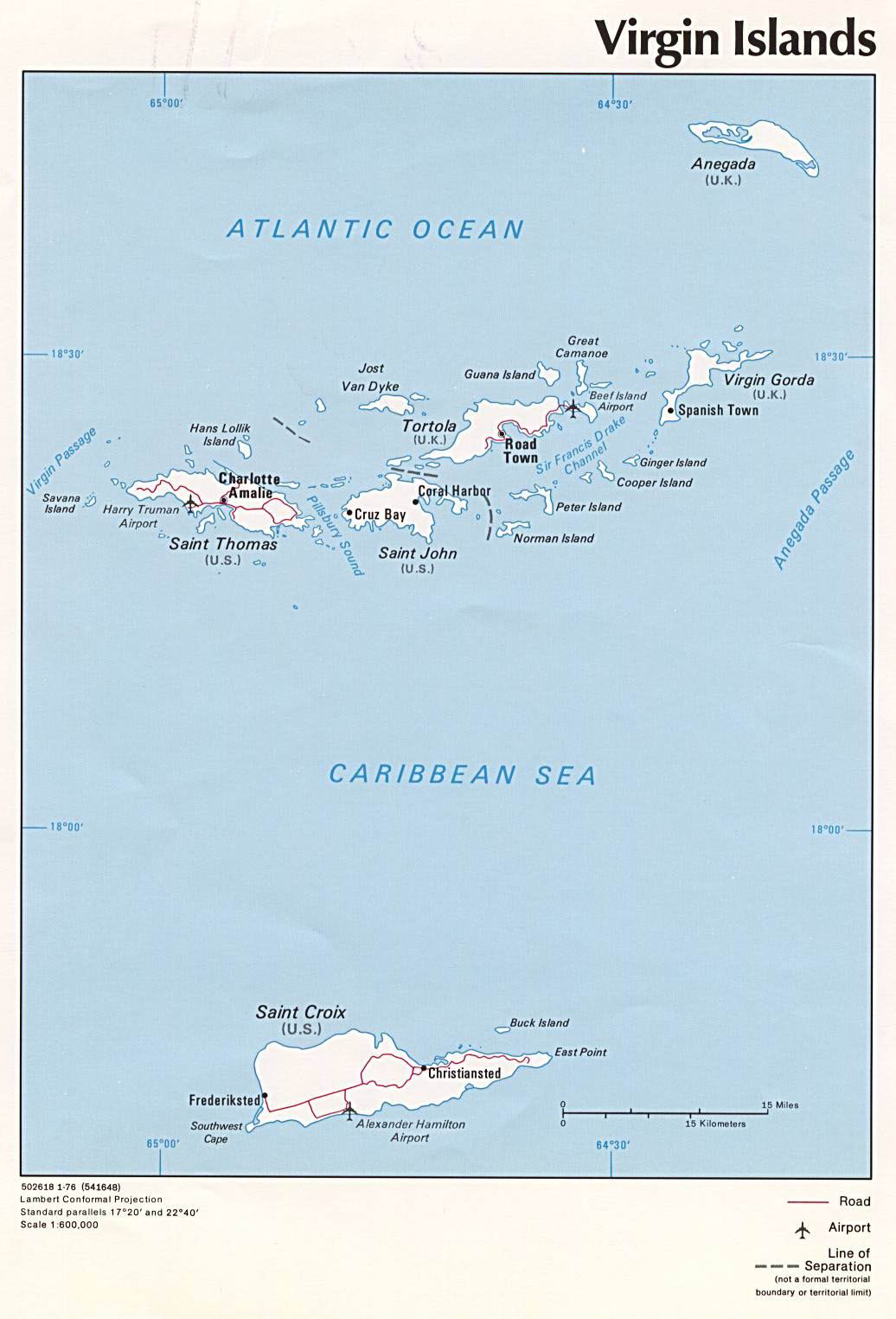US Virgin Islands, Political