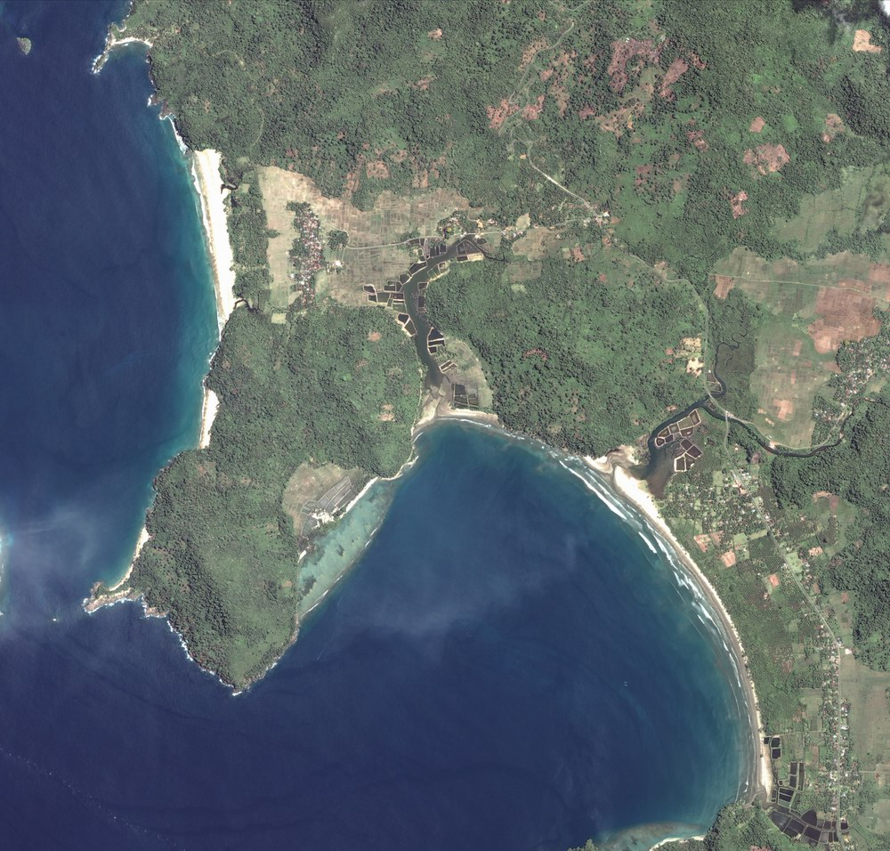 Banda Aceh - Before tsunami (April 12 2004) Image by DigitalGlobe
